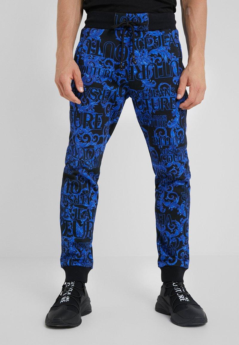 Versace Jeans Couture - BAROQUE - Tracksuit bottoms - dark blue
