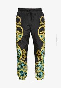 Versace Jeans Couture - TRACK PANTS - Verryttelyhousut - pure mint - 3