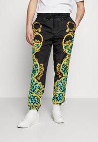 Versace Jeans Couture - TRACK PANTS - Verryttelyhousut - pure mint - 0