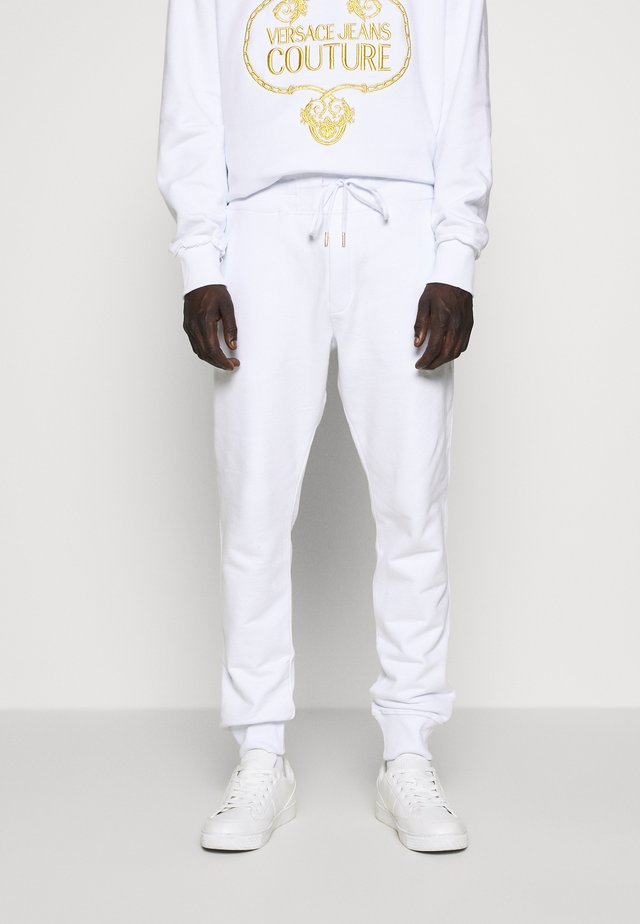 BASIC JOGGERS - Tracksuit bottoms - white