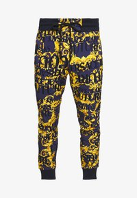 Versace Jeans Couture - ALLOVER PRINT JOGGERS - Trainingsbroek - blue - 3