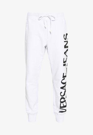 BIG LOGO JOGGERS - Pantaloni sportivi - white