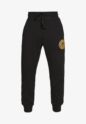 BE BAROQUE PATCH - Tracksuit bottoms - black