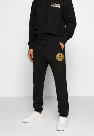 BE BAROQUE PATCH - Pantalon de survêtement - black