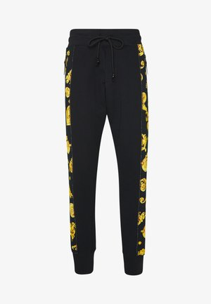 JOGGERS GIOIELLI SIDE STRIPE - Tracksuit bottoms - black