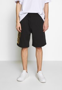 Versace Jeans Couture - LOGO - Spodnie treningowe - black/gold - 0