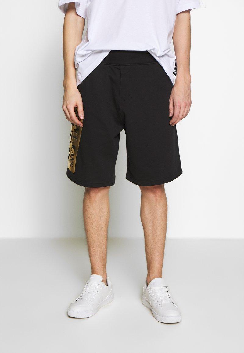 Versace Jeans Couture - LOGO - Spodnie treningowe - black/gold