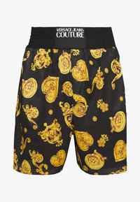 Versace Jeans Couture - FRONT LOGO GIOIELLI PRINT - Shorts - black - 3