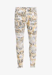 Versace Jeans Couture - ALLOVER  - Džíny Slim Fit - white - 5