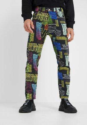 GRAFFITI  - Jeans slim fit - black
