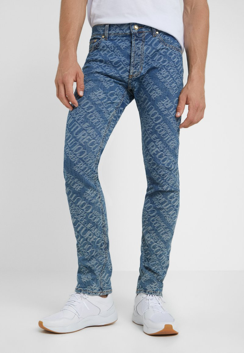 Versace Jeans Couture - Vaqueros slim fit - blue denim