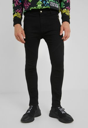 BIKER  - Vaqueros slim fit - black