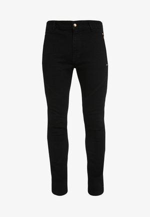 BIKER  - Slim fit jeans - black
