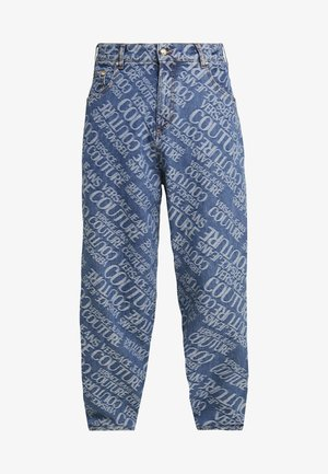 ALLOVER PRINT  - Vaqueros boyfriend - blue denim