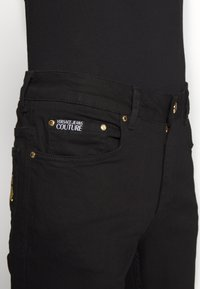 Versace Jeans Couture - Jeansy Slim Fit - black - 5