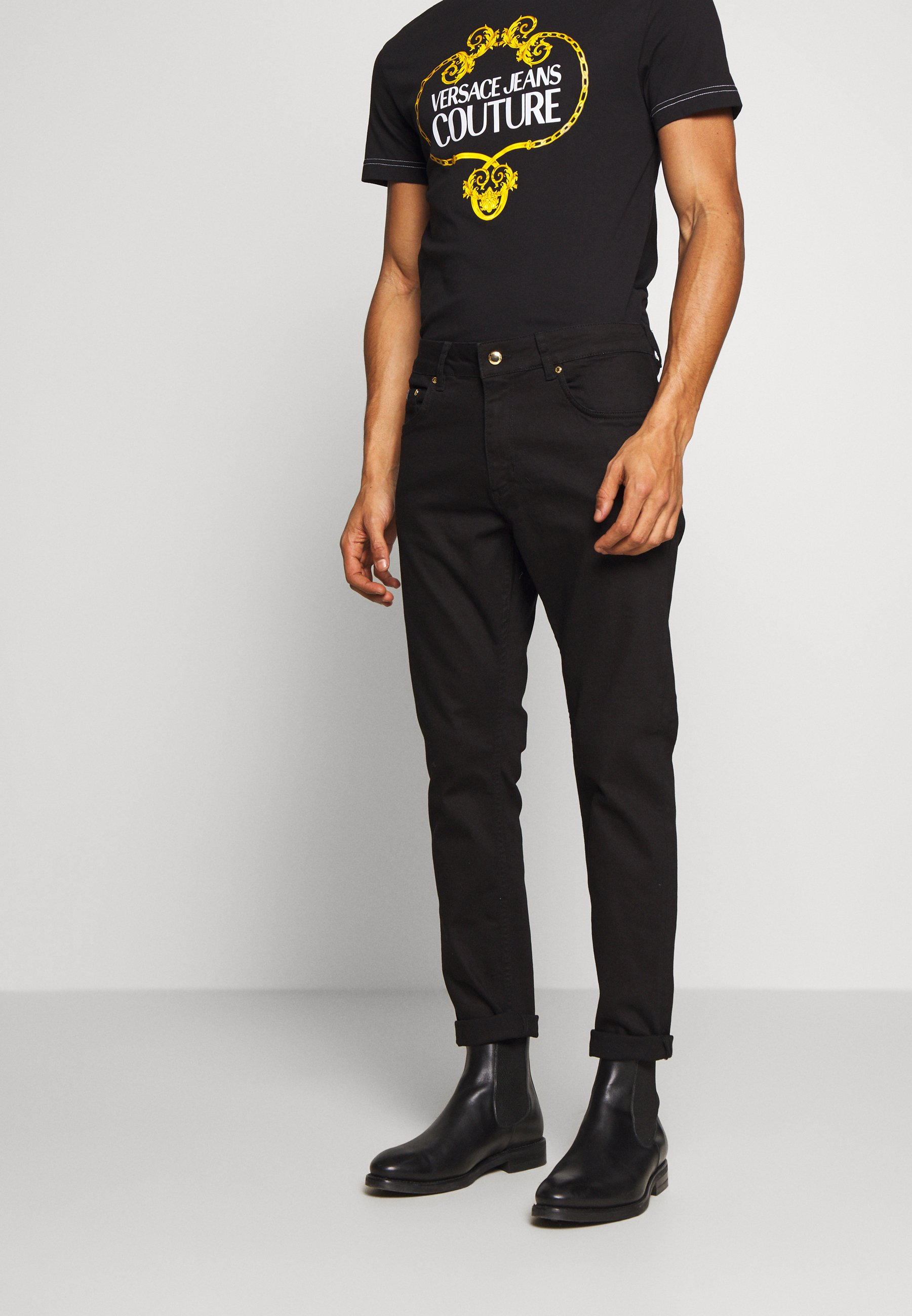 Versace Jeans Couture Jeansy Slim Fit - black