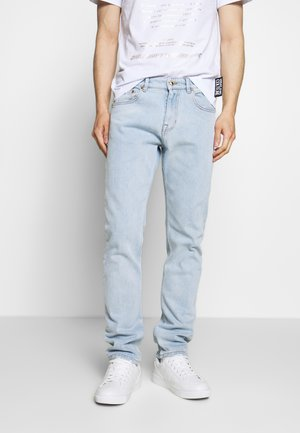 BIG PRINT BACK - Relaxed fit jeans - indigo