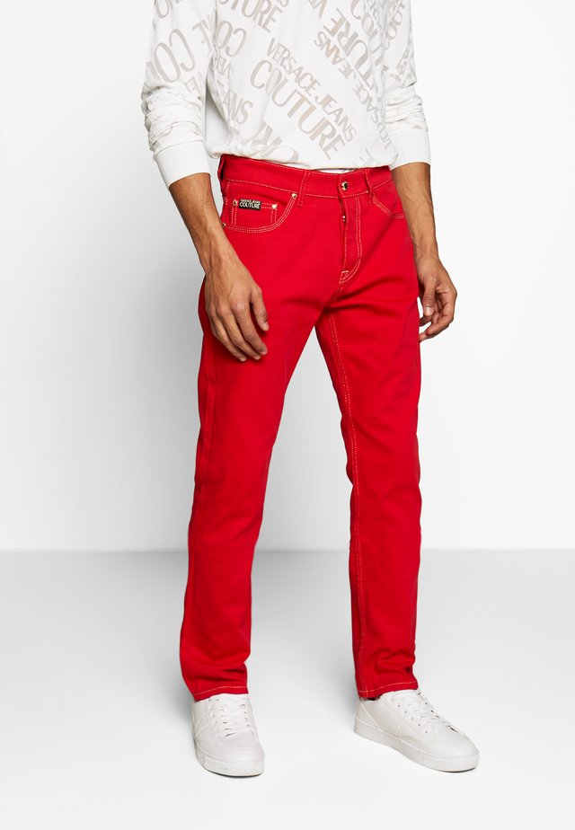 MILANO ICON - Jeans Straight Leg - red