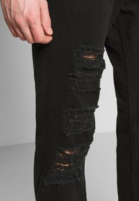 Versace Jeans Couture - MILANO DESTROYED - Slim fit jeans - black - 3