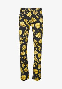 Versace Jeans Couture - ALLOVER GIOIELLI PRINT - Slim fit jeans - black - 3