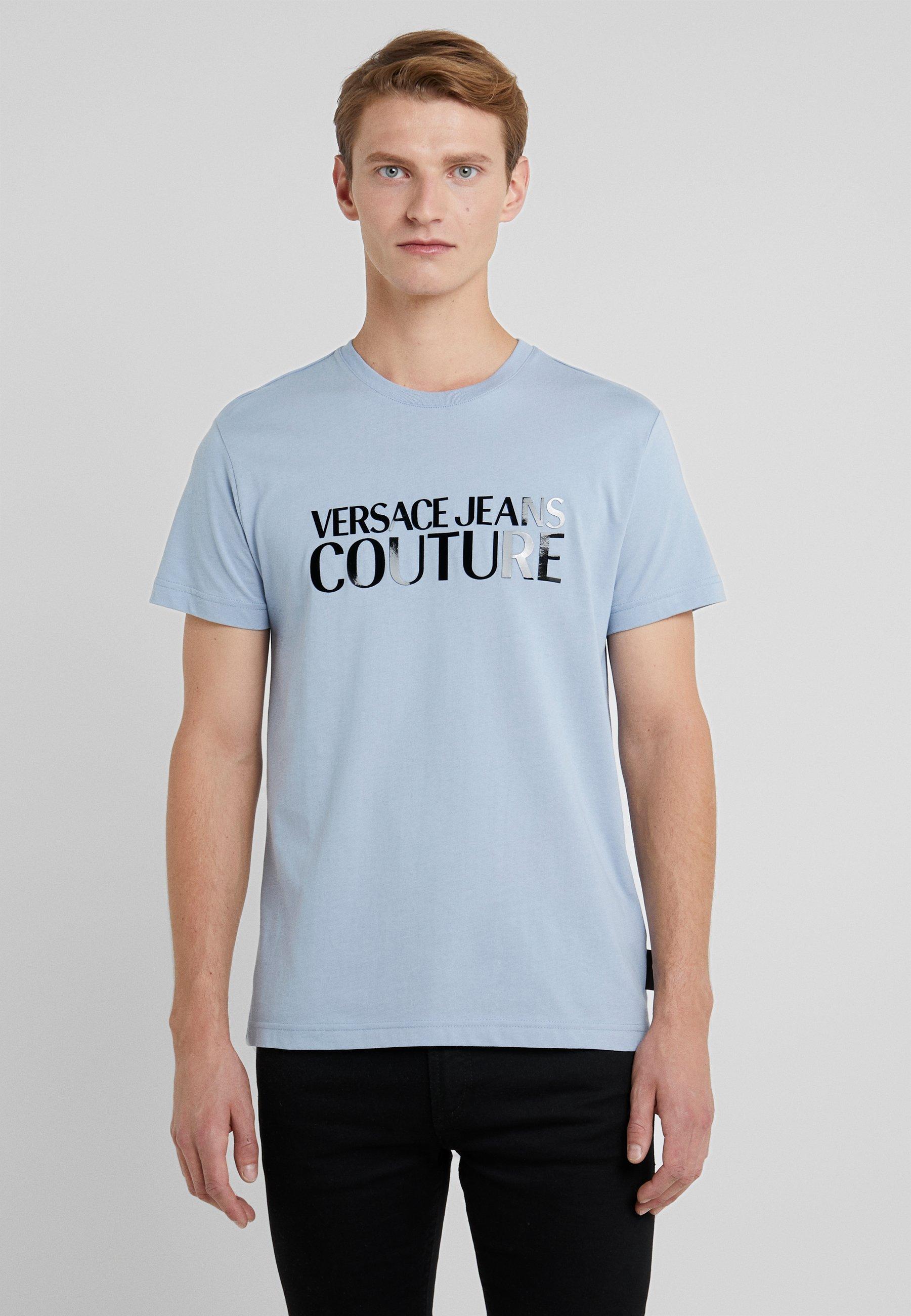 shirt Aviatore Jeans Couture Imprimé Versace MaglietteT CorxBedW
