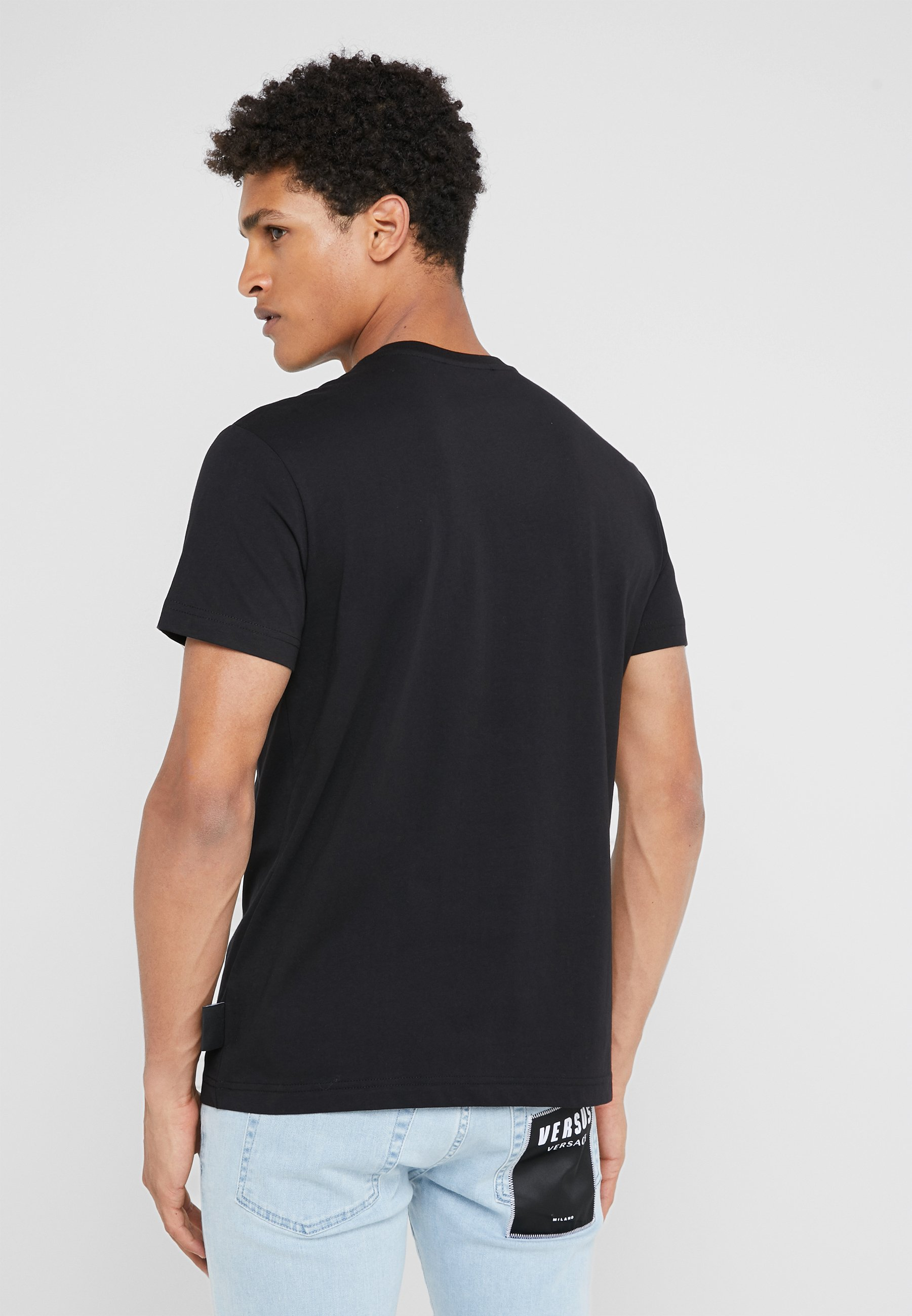 MaglietteT Versace shirt Black Jeans Couture Con Stampa OTiPlwkXuZ