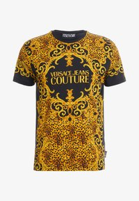 Versace Jeans Couture - MAGLIETTE UOMO - T-shirts med print - nero - 3
