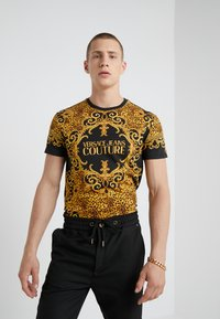 Versace Jeans Couture - MAGLIETTE UOMO - T-shirts med print - nero - 0