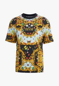 Versace Jeans Couture - MAGLIETTE UOMO - T-shirt med print - nero - 3
