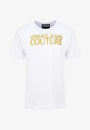 MAGLIETTE UOMO - T-shirts med print - bianco/ottico