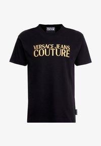 Versace Jeans Couture - MAGLIETTE UOMO - T-shirt z nadrukiem - nero - 4