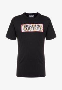 Versace Jeans Couture - MAGLIETTE UOMO - T-Shirt print - black - 3
