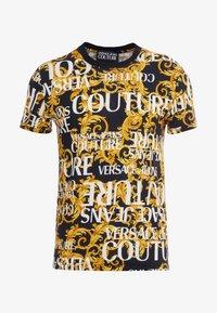 Versace Jeans Couture - MAGLIETTE UOMO - T-shirt imprimé - nero - 3