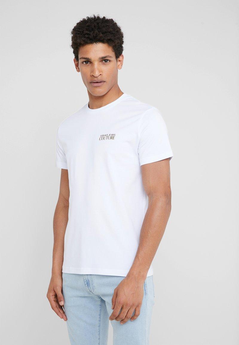 Versace Jeans Couture - MAGLIETTE UOMO - Jednoduché triko - bianco ottico