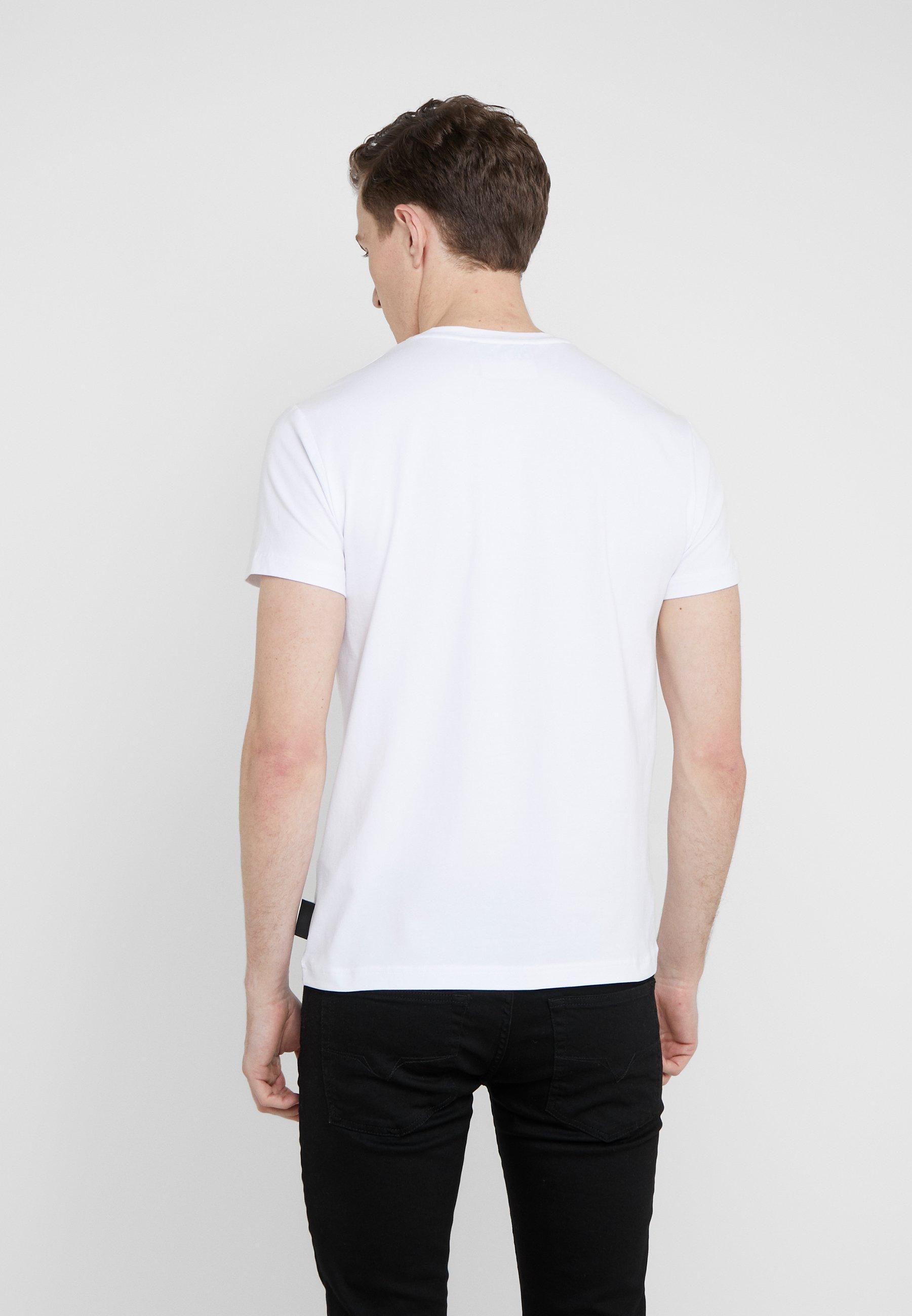 Couture Ottico Magliette Imprimé UomoT shirt Bianco Versace Jeans 5LRjA34