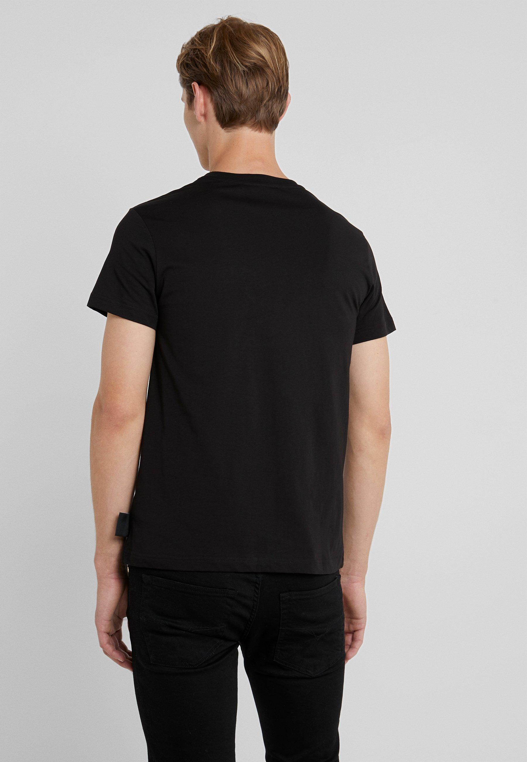 Versace MaglietteT Couture Jeans Imprimé Black shirt WH2EDY9I