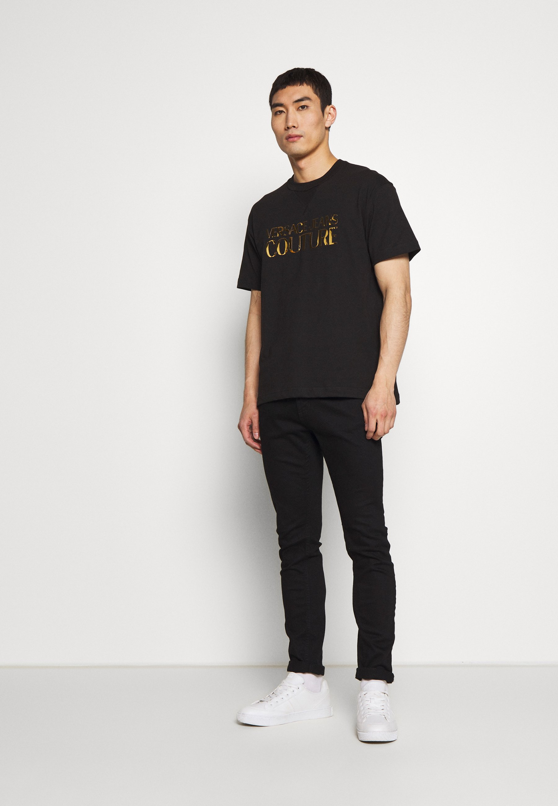 Versace Jeans Couture Logo - Printtipaita Black