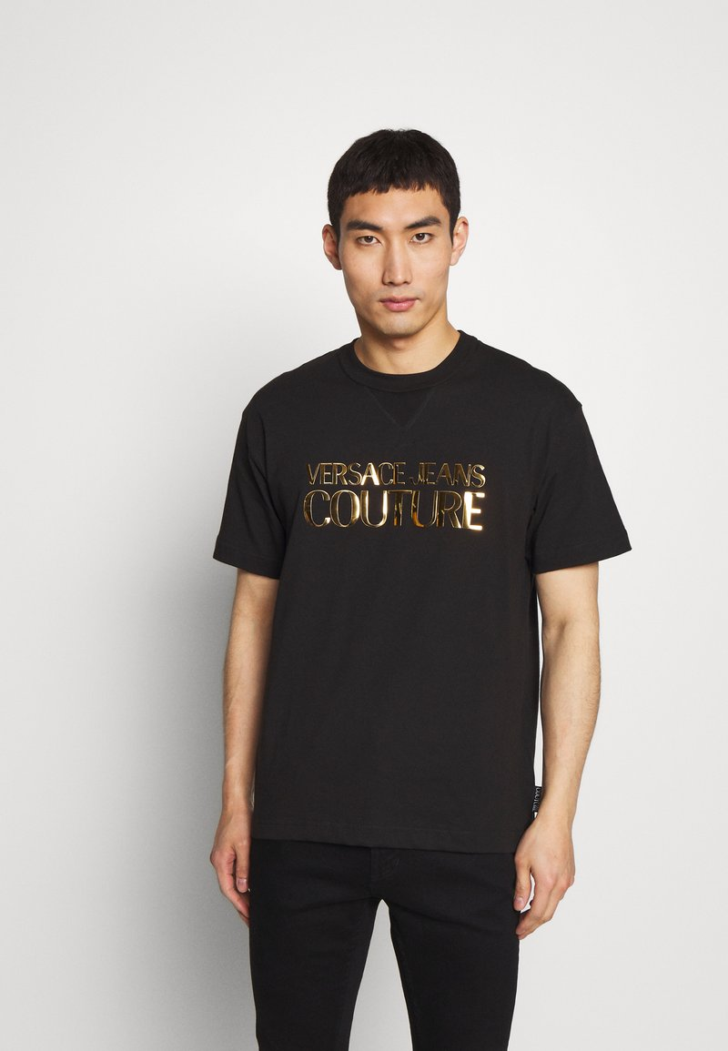 Versace Jeans Couture - LOGO - T-Shirt print - black