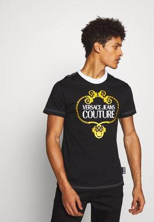 LOGO SLIM - T-shirt con stampa - black