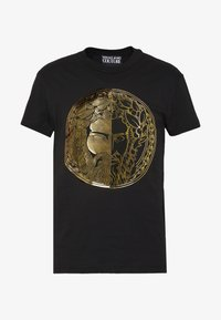 Versace Jeans Couture - WITHOUT THE BE BAROQUE PATCH - T-shirt imprimé - black - 4