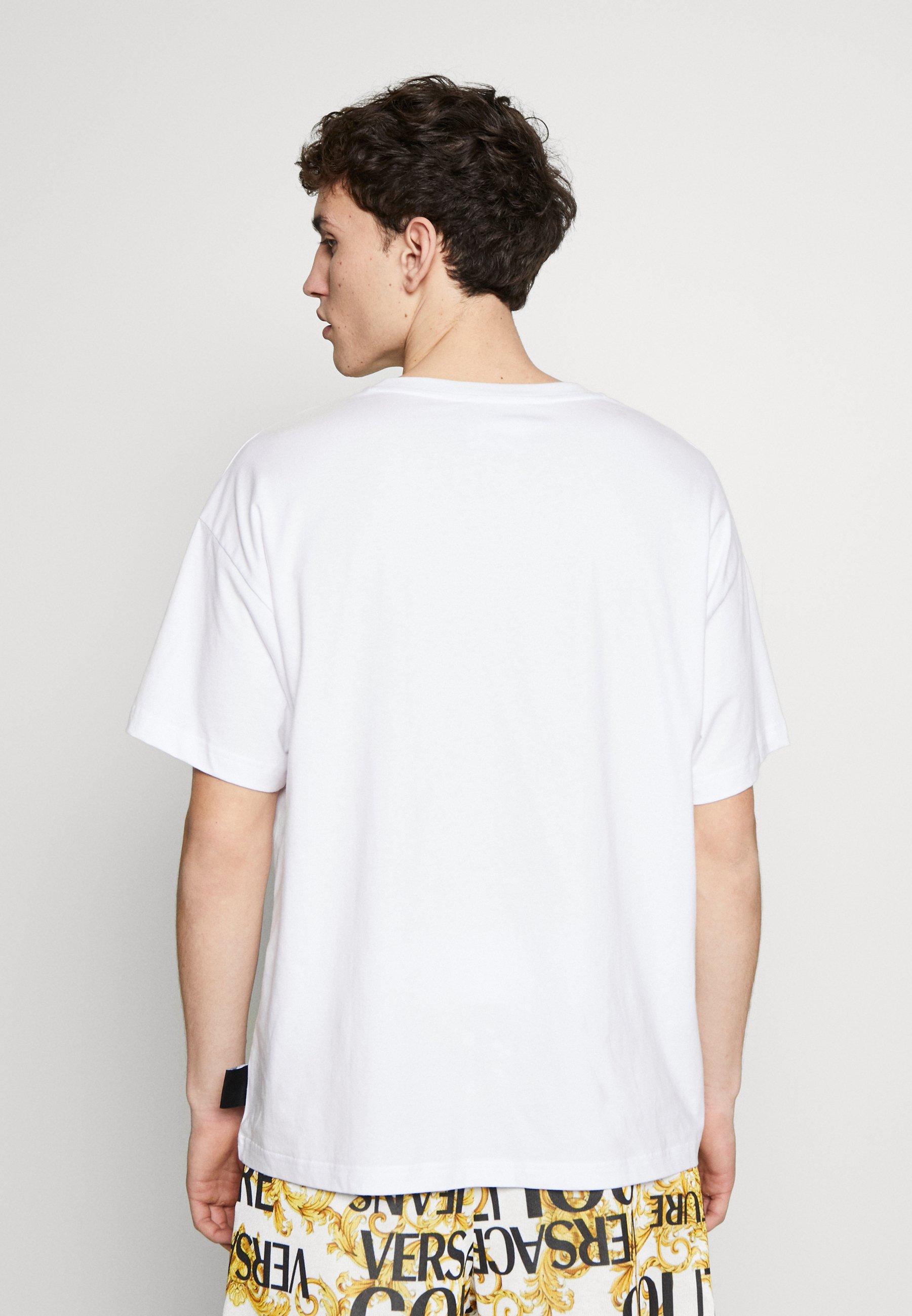 Versace Jeans Couture CAPSULE - T-shirt z nadrukiem - white