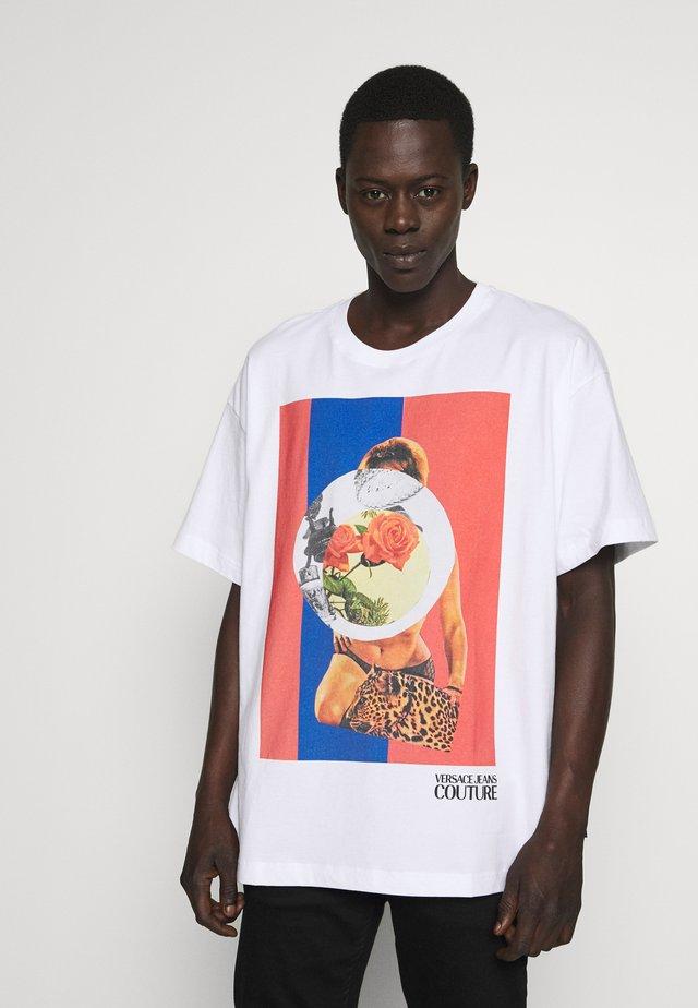 CAPSULE - T-Shirt print - white