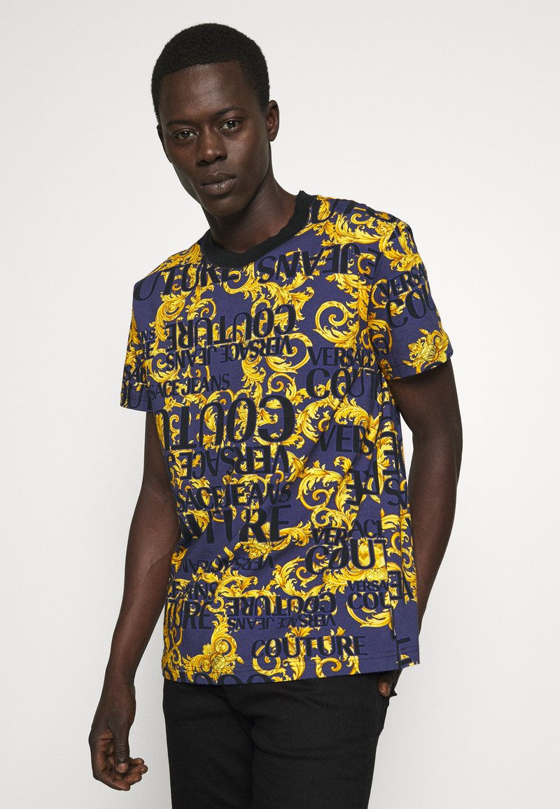Versace Jeans Couture - T-shirt print - blue