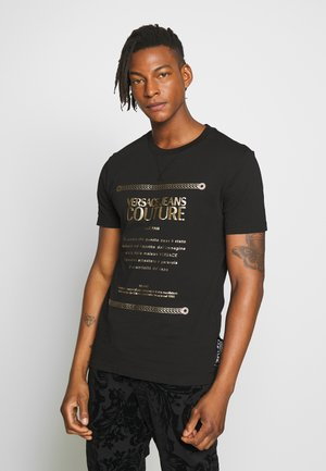 LOGO SLIM - T-shirt imprimé - black