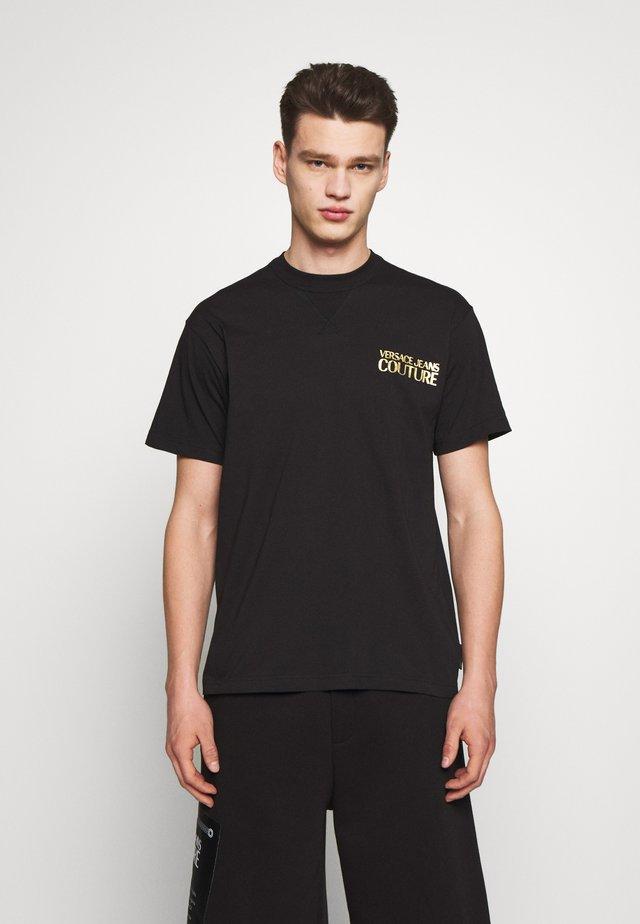 CHEST LOGO - T-shirt z nadrukiem - black