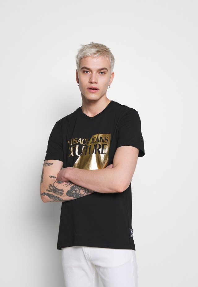 FOIL LOGO - T-shirts print - black
