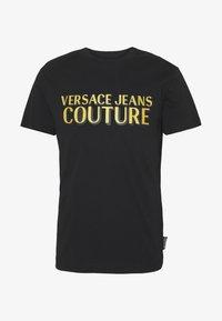 Versace Jeans Couture - LOGO - T-Shirt print - black - 3