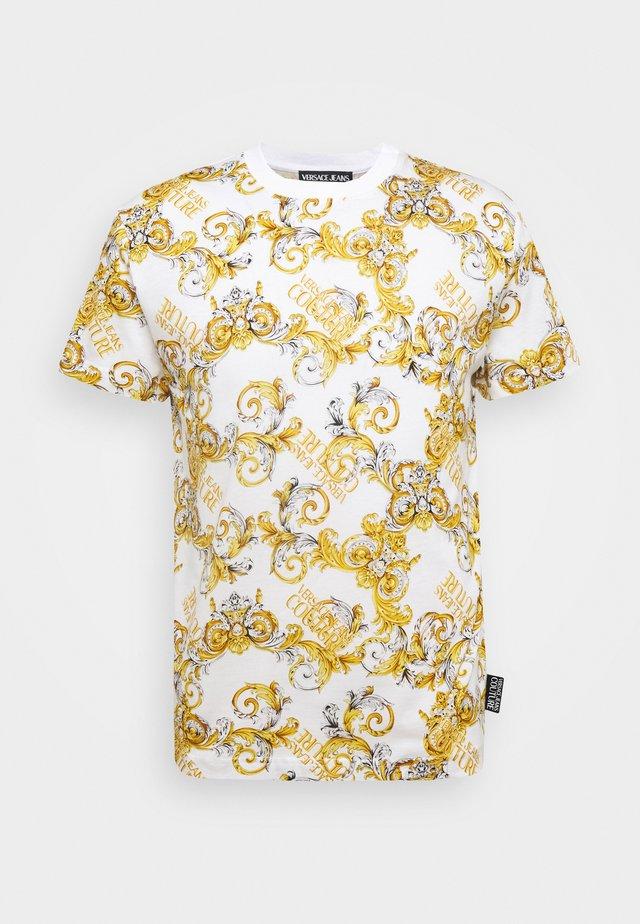 PRINT NEW LOGO - Print T-shirt - bianco ottico