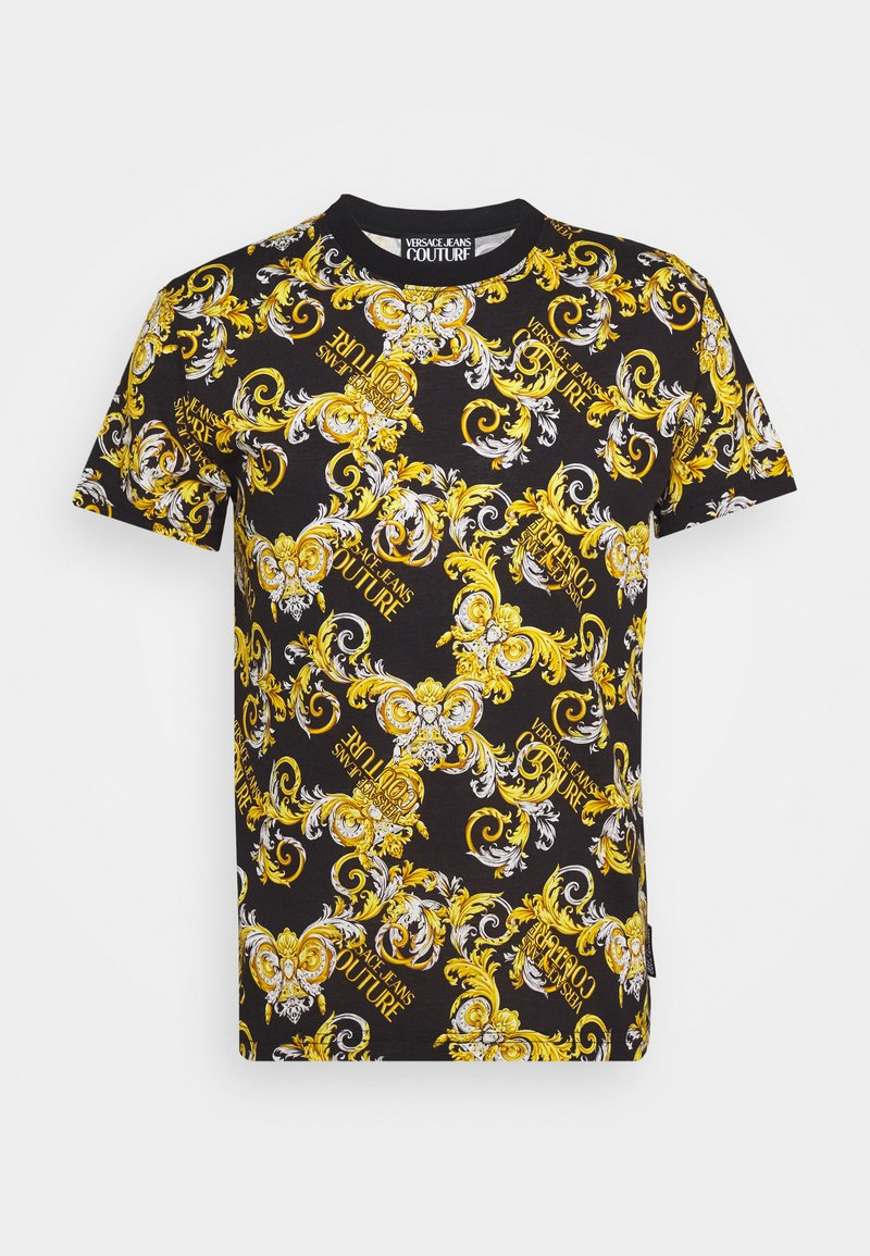 Versace Jeans Couture - PRINT NEW LOGO - Print T-shirt - nero