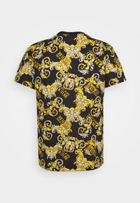 Versace Jeans Couture - PRINT NEW LOGO - Print T-shirt - nero - 1